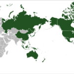 Map of APEC (Courtesy of Wikipedia)