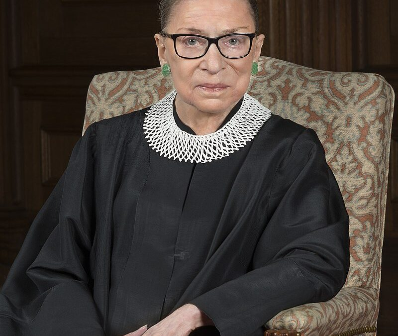 In Tribute to RBG, the Trailblazer