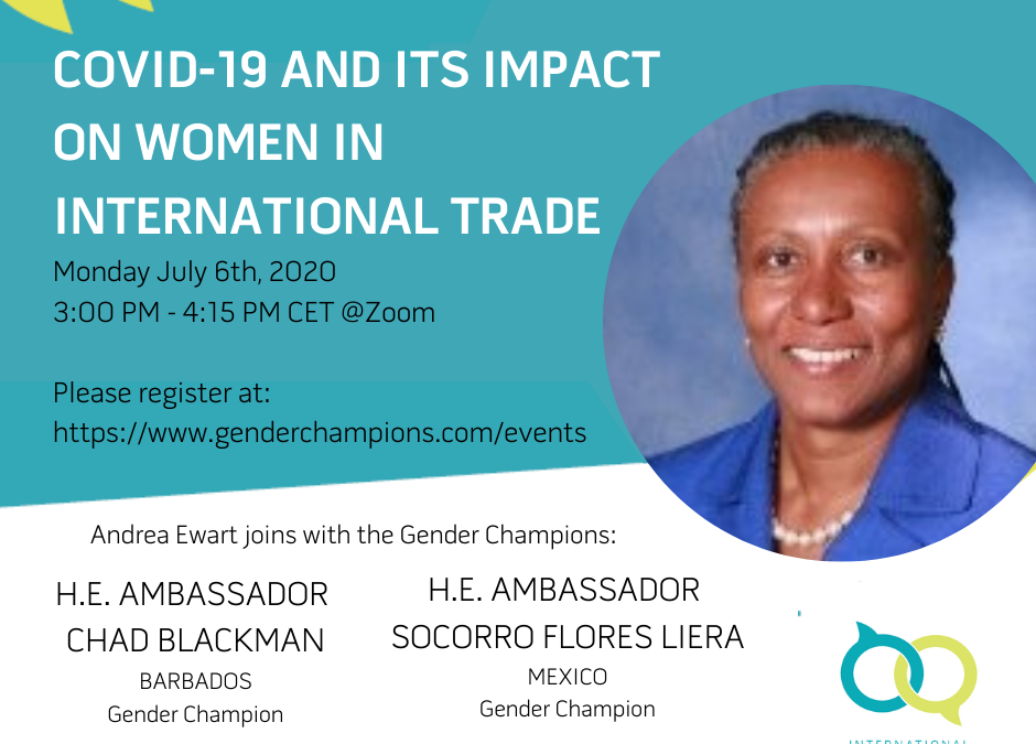 COVID-19 and its Impact on Women in International Trade