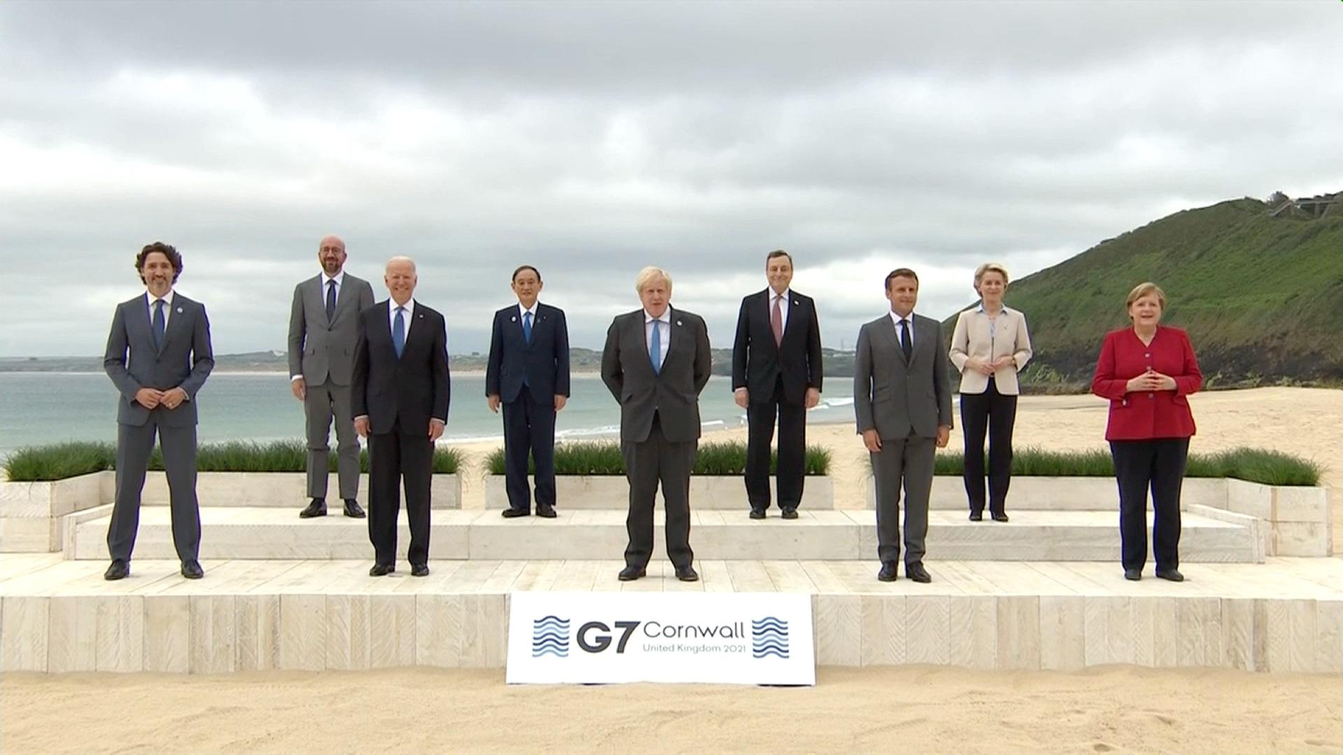 G7 leaders 2021